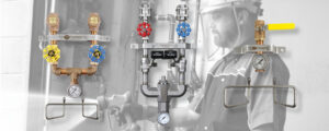 Steam and water washdown station 300x120 - Washdown Systems